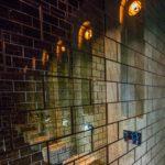 Speilfliser på toalett